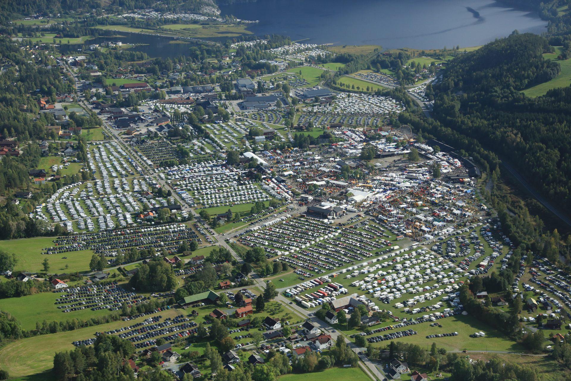 Dyrskuplassen i Seljord - oversiktsbilde